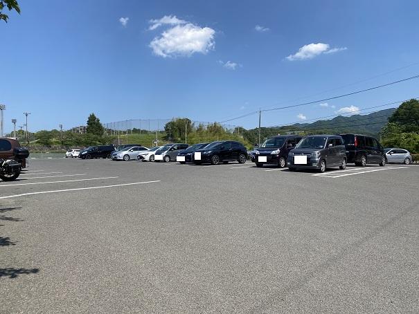 亀鶴公園 駐車場1
