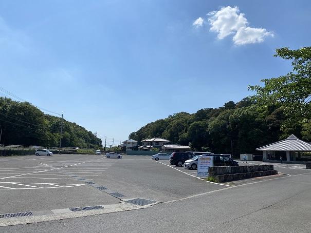 亀鶴公園 駐車場2