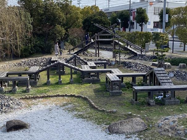 味野公園 三河の八つ橋