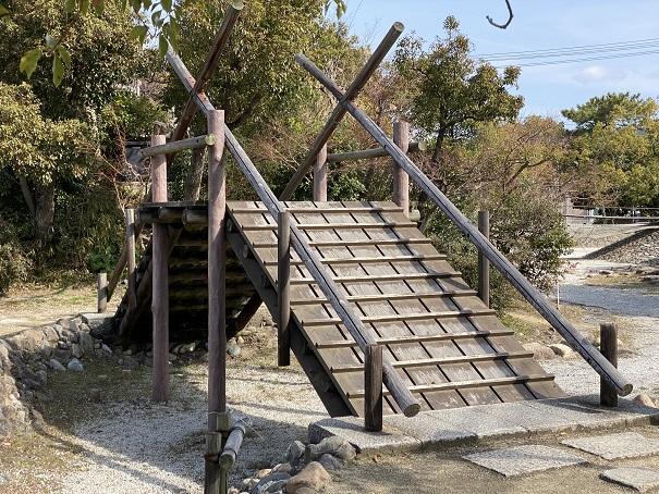 味野公園 羽根田弁天の橋