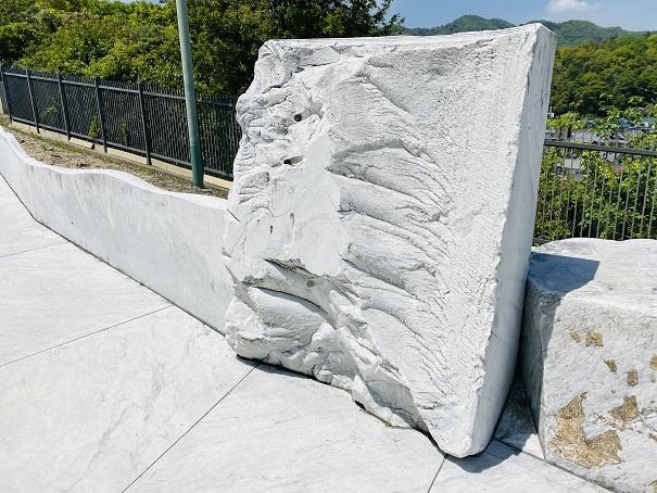 耕三寺博物館 未来心の丘 モニュメント