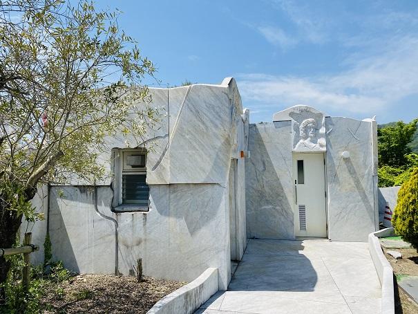 耕三寺博物館 未来心の丘 トイレ