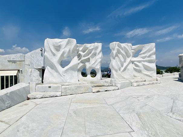 耕三寺博物館 未来心の丘 風の四季