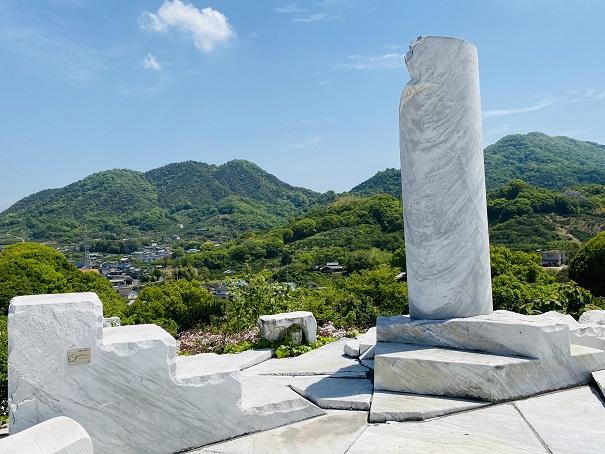 耕三寺博物館 未来心の丘 小象の小庭