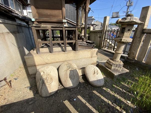 鞆の津の力石