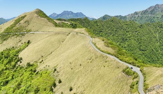 UFOライン 町道瓶ヶ森線 標高約1700m絶景の天空ドライブ いの町