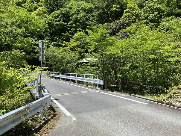 白猪谷オートキャンプ場 橋
