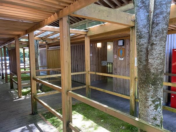 道の駅木の香 トイレ1