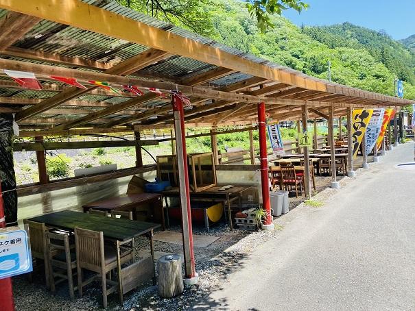 道の駅木の香 木の香市食事スペース