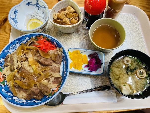 道の駅木の香 レストラン牛丼