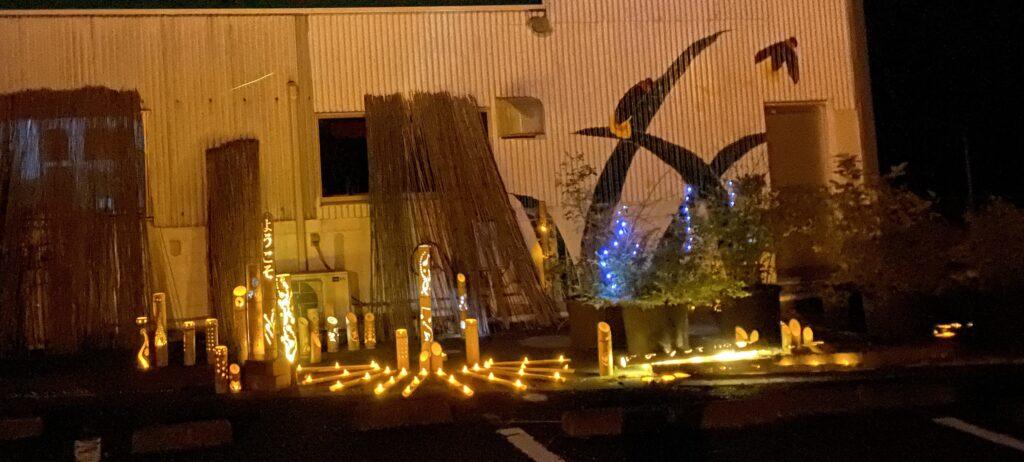 さぬきこだわり市 ホタルと灯りのコラボレーション