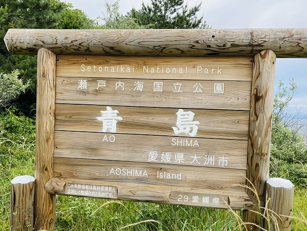 青島 看板