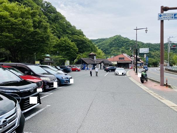 道の駅しおのえ 駐車場