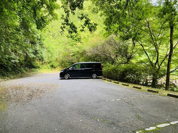 田万ダム公園 駐車場