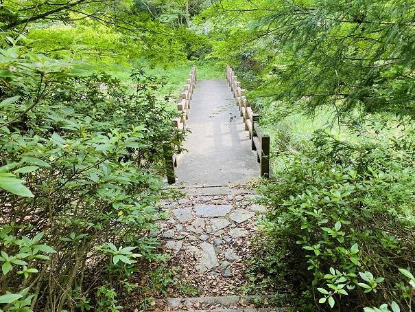 田万ダム公園 橋