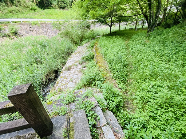 田万ダム公園 橋の向こう側
