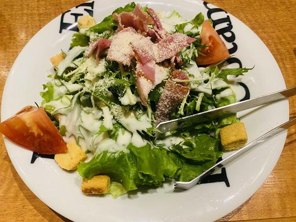 魚民名物 シーザーサラダ