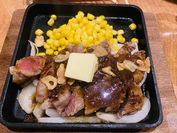 魚民丸亀店 牛ザブトンステーキ