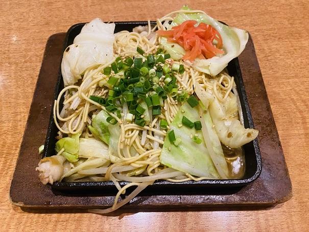 魚民丸亀店 焼ラーメン
