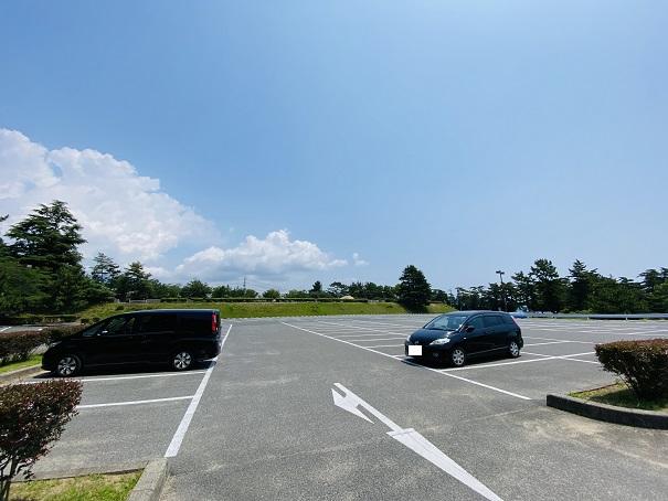 鷲羽山展望台 駐車場1