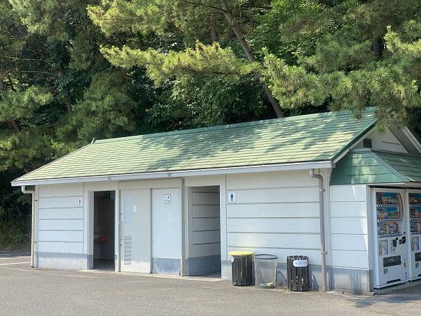 鷲羽山展望台 トイレ