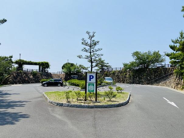 鷲羽山展望台 第2駐車場
