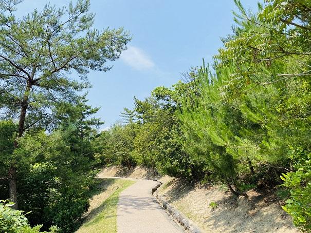 鷲羽山展望台 遊歩道