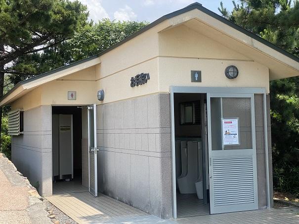 鷲羽山展望台 第2展望台トイレ