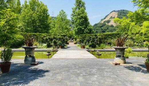 深山イギリス庭園 四季折々の花を楽しむ みやま公園 玉野市