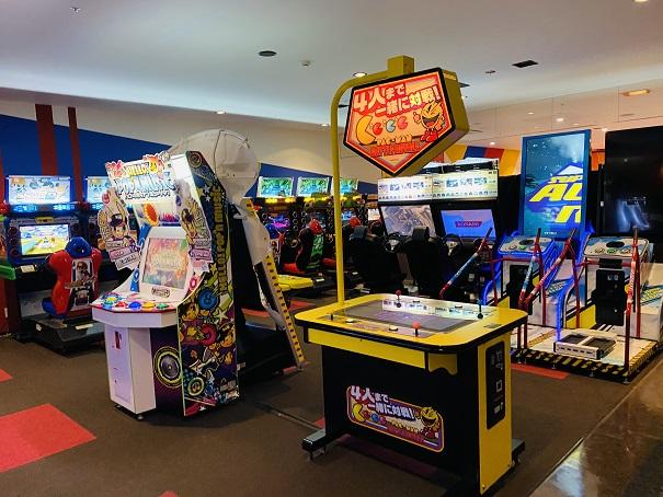 ラウンドワンスタジアム高松 5階アミューズメント