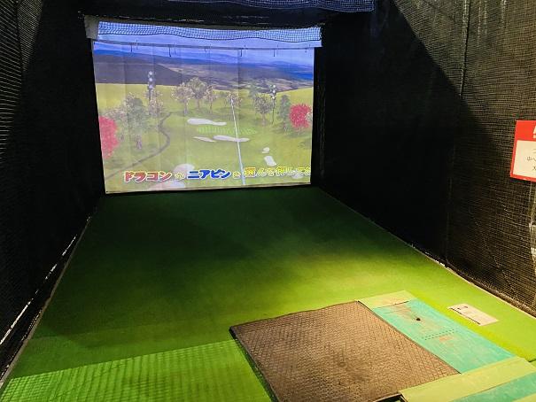 ラウンドワンスタジアム高松 バーチャルゴルフ