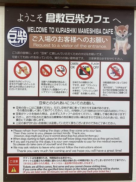 豆柴カフェ お願い