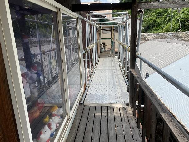 倉敷Dog資料館への通路