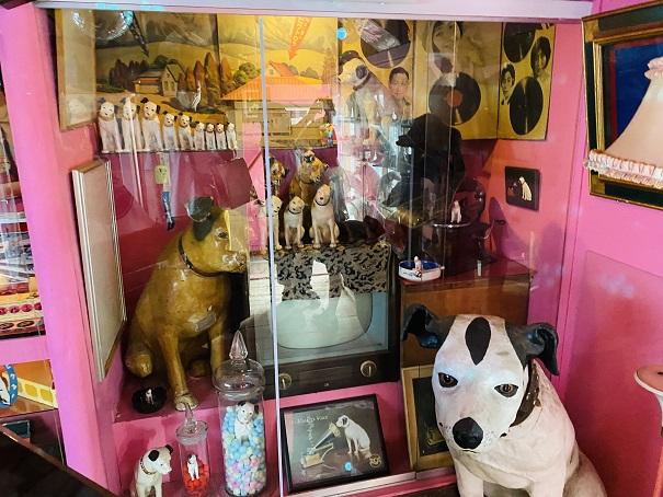 倉敷Dog資料館 いろいろなビクターの犬