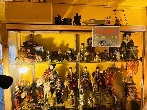 倉敷おもちゃ博物館 大正時代のおもちゃ