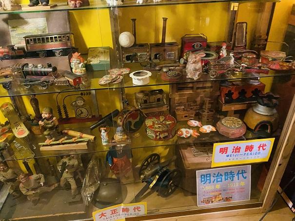 倉敷おもちゃ博物館 明治時代のおもちゃ
