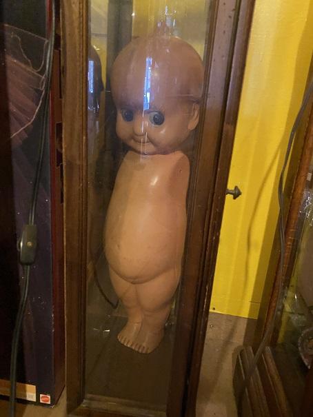 倉敷おもちゃ博物館 大きいキューピー