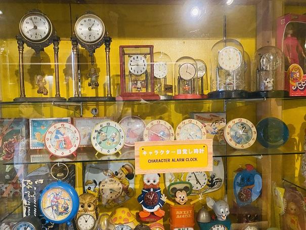 倉敷おもちゃ博物館 目覚まし時計