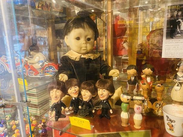 倉敷おもちゃ博物館 ビートルズの人形