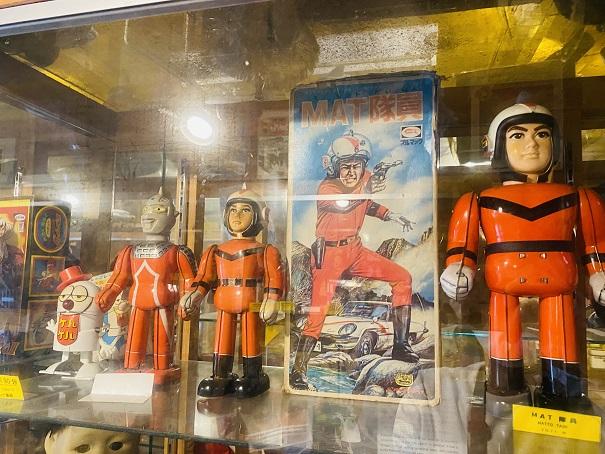 倉敷おもちゃ博物館 マット隊員