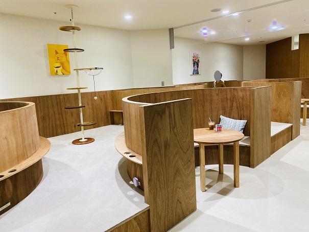 Moff animal cafeアリオ倉敷店半個室