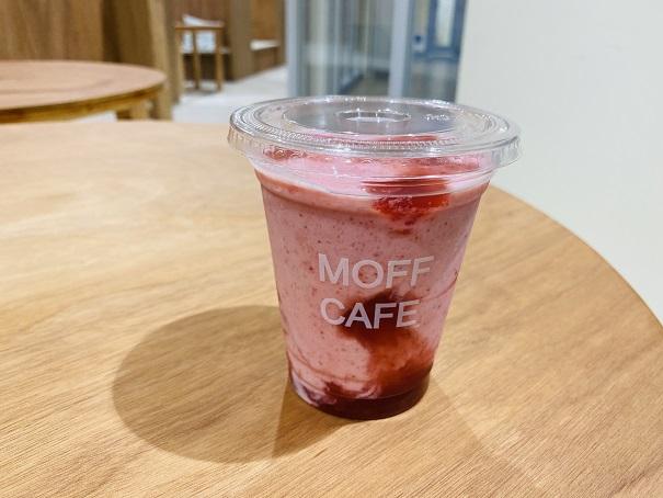 Moff animal cafeアリオ倉敷店フローズンストロベリー