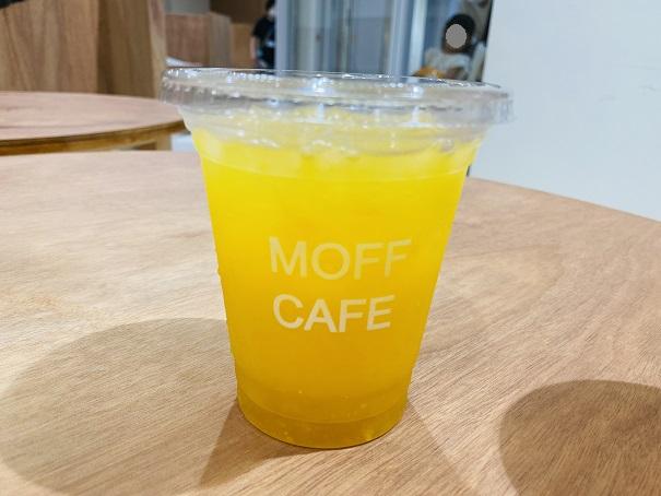 Moff animal cafeアリオ倉敷店つぶつぶオレンジジュース