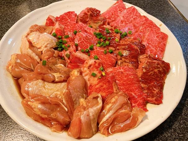 かがり火亭 お肉