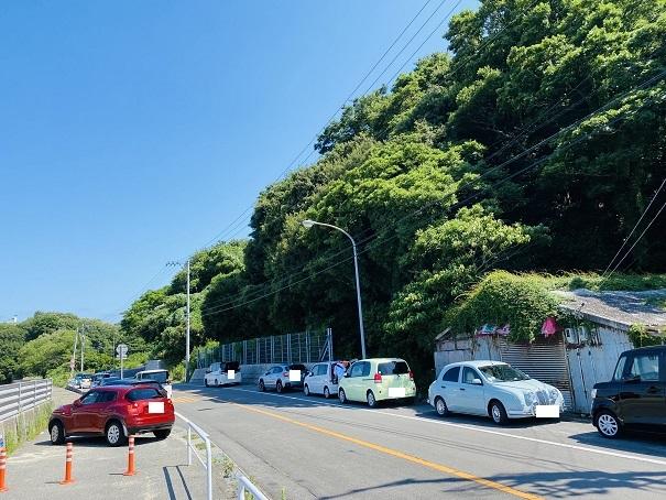 笹尾海水浴場 駐車場