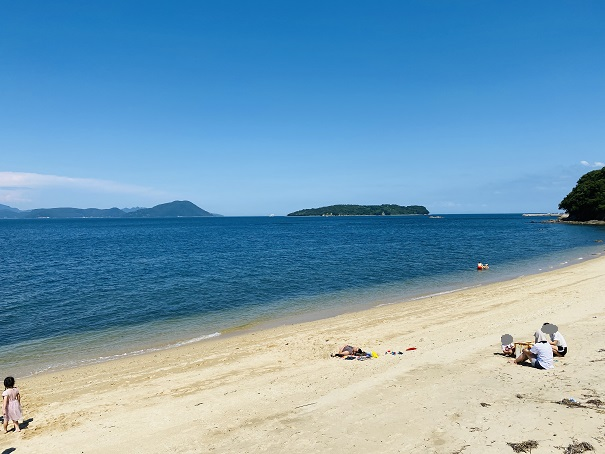 笹尾海水浴場 ビーチ