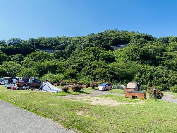 太鼓の鼻オートキャンプ場 オートキャンプサイト