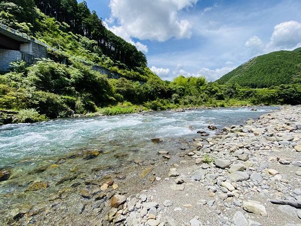 水深が深い川や流れが早い川はやめる