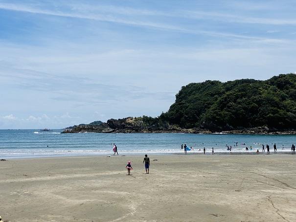 白浜海水浴場 きれいなビーチ