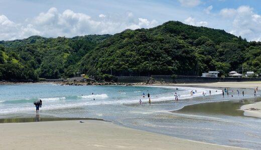 白浜海水浴場 遠浅のキレイな砂浜ビーチ キャンプ場 東洋町